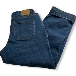 BC CLOTHING CO. Men's Fleece Lined 5 Pocket Jeans